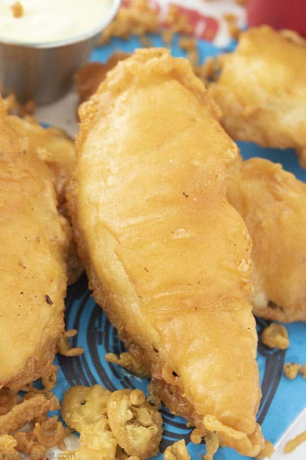 Fried fish copycat