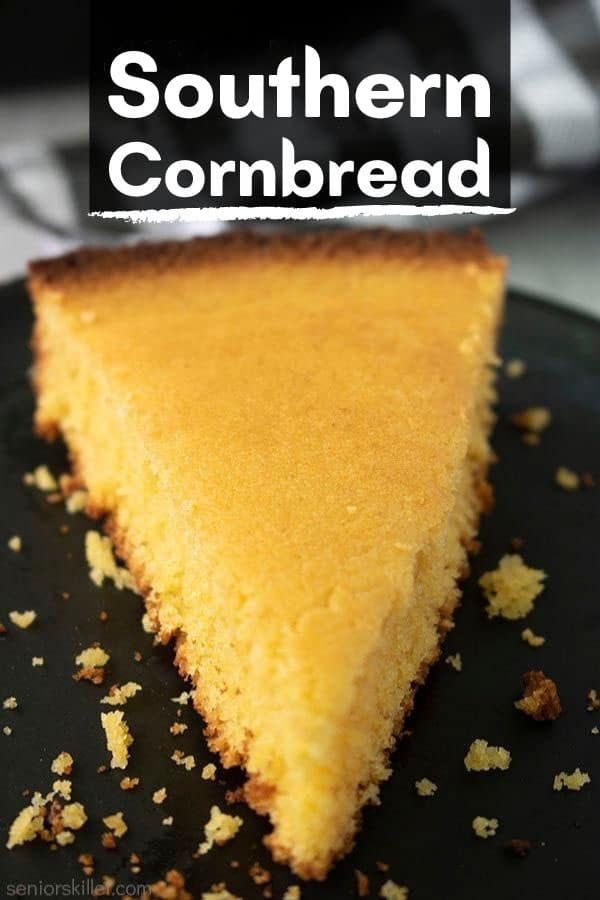 Text on image Southern Cornbread