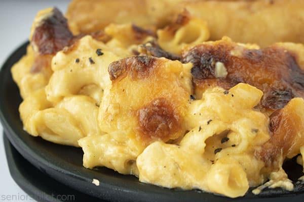 crispy top on mac and cheese