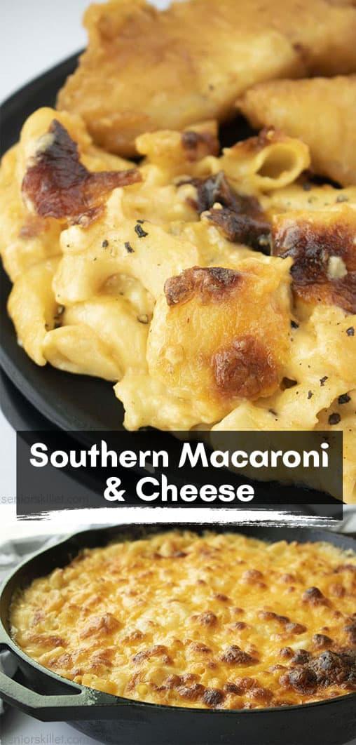Long Pin Collage Southern Macaroni & Cheese