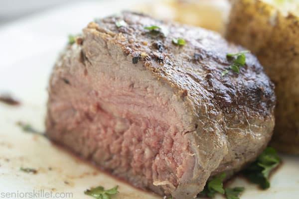 Inside of beef filet