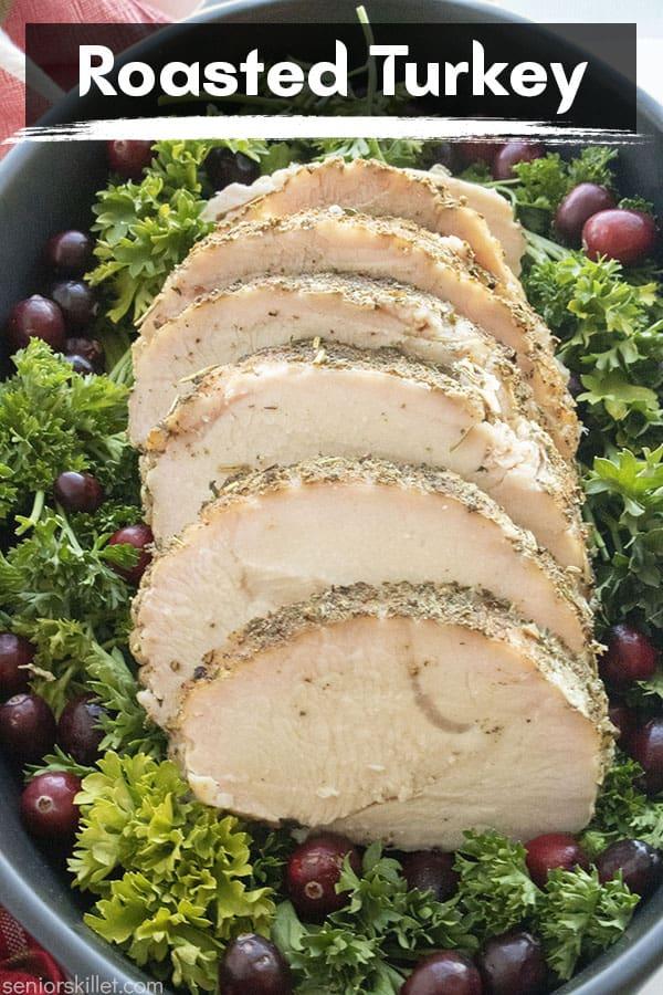 Text on image Roasted Turkey