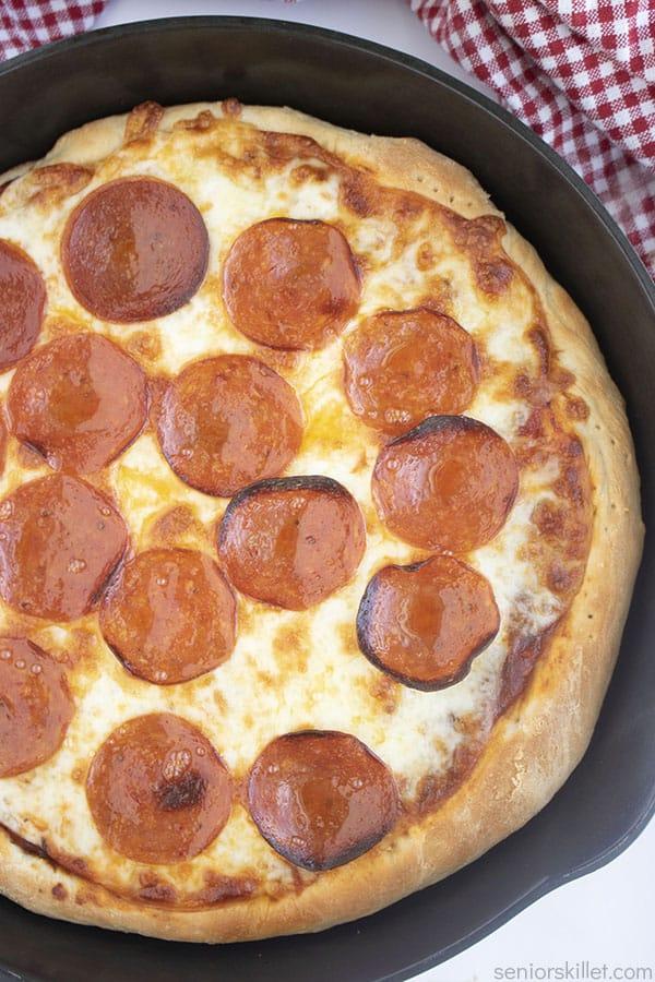 Homemade Skillet Pizza