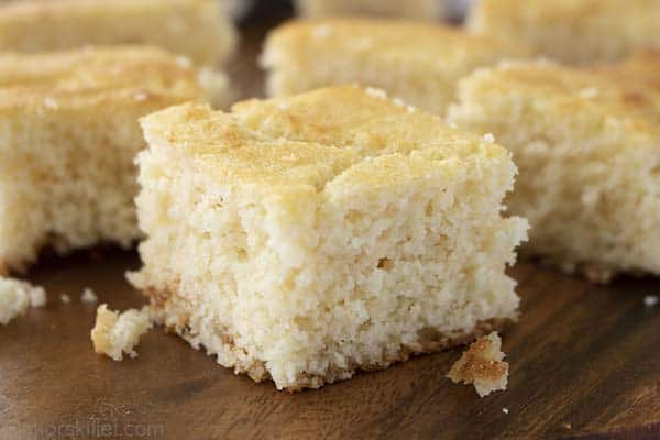 pieces of southern cornbread