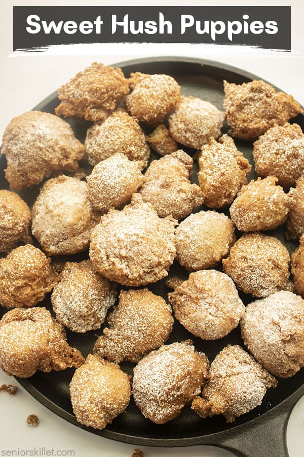 Text on image Sweet Hush Puppies