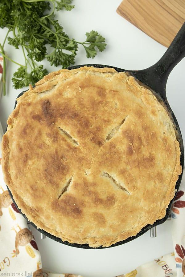 Homemade turkey Pot Pie