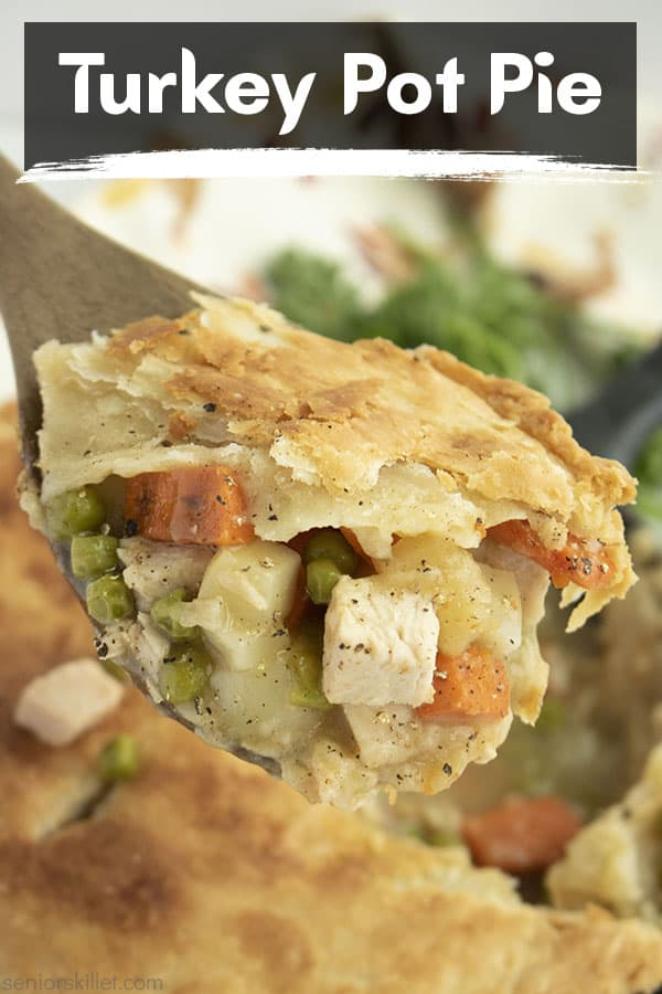 Text on image Turkey Pot Pie