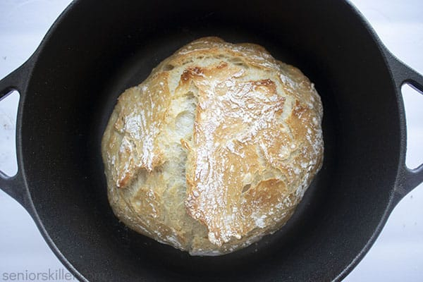 Bread in Dutch oven
